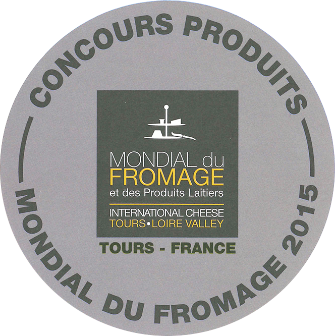 MONDIAL DU FROMAGE 2015 Silver