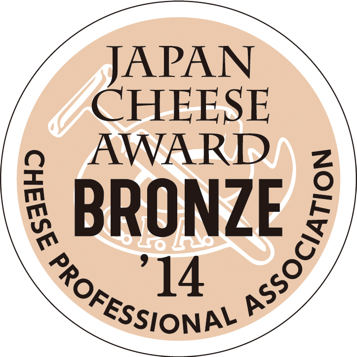 JAPAN CHEESE AWARD BRONZE 2014