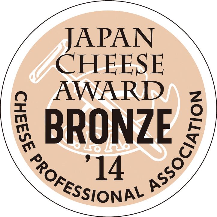 JAPAN CHEESE AWARD BRONZE 2014