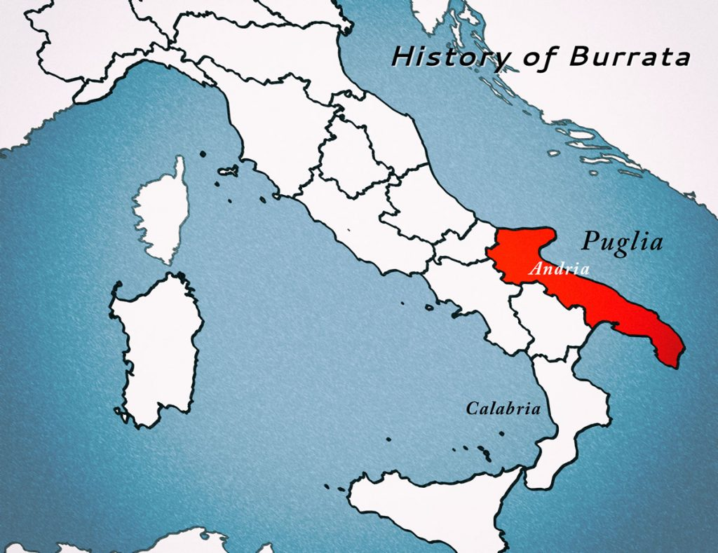 History of Burrata