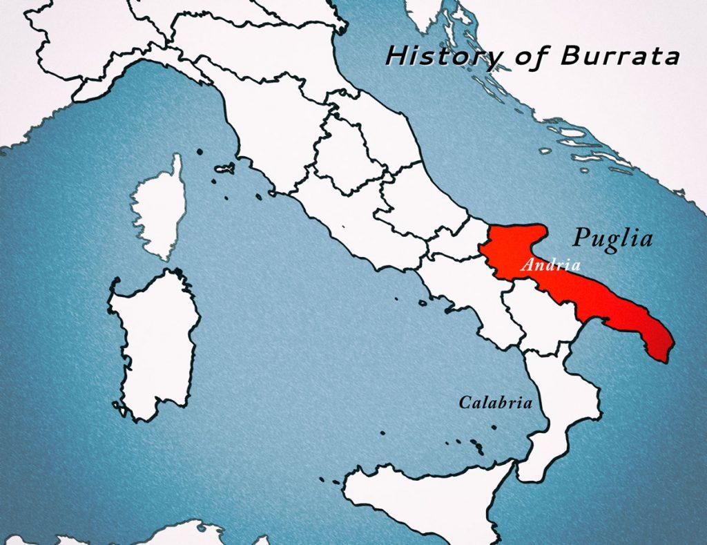 History of Burrata